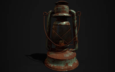 Old Lantern by SoumyashriMishra