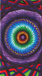 Spinning Mandala by froggychan