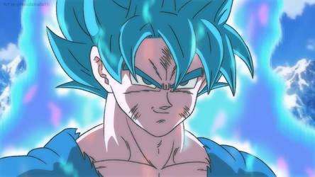 Goku Azul by HiroshiIanabaModder