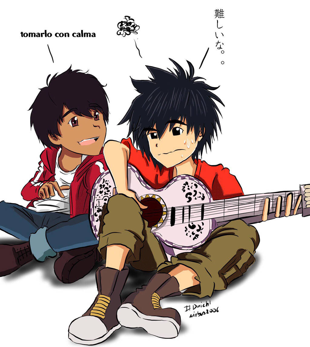 Hiro and Miguel - Not like making a robot by airbus2006 on