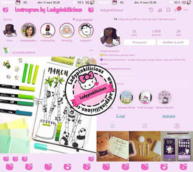 Hello Kitty Instagram Iphone by LadyPinkilicious