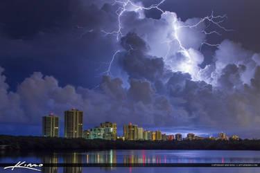 Lightning-Storm-Over-Singer-Island-Florida by CaptainKimo
