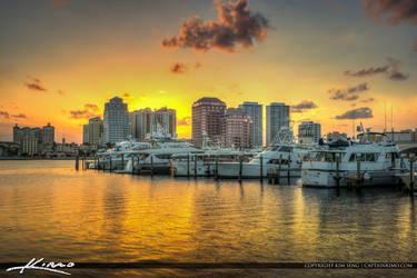 West-Palm-Beach-Intense-Sunset by CaptainKimo