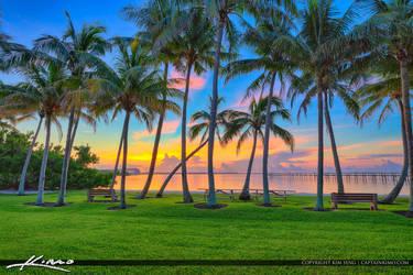 Sewalls-Point-Park-Coconut-Tree-Sunrise-Waterway by CaptainKimo
