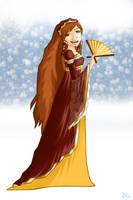 Ginny Weasley: Yule Ball by PrimeHunter