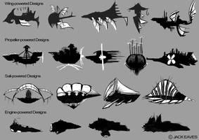 Airship Thumbnails PG1 by JackEavesArt