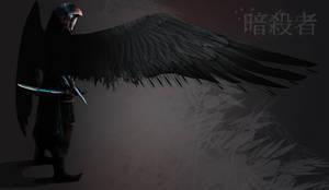 Eastern Assassin by JackEavesArt