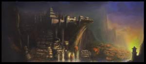 The Hidden City by JackEavesArt