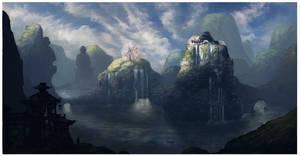 The Hidden City v2 by JackEavesArt