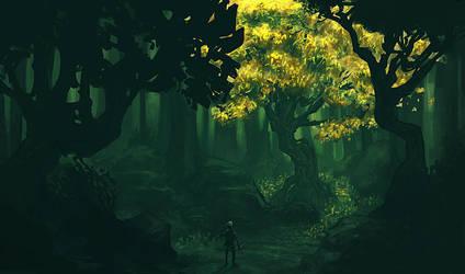 Guardian Tree by JackEavesArt