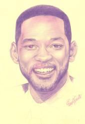 Will Smith Portrait by honeypamela