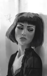 Portrait Study - Final by ThanArtos