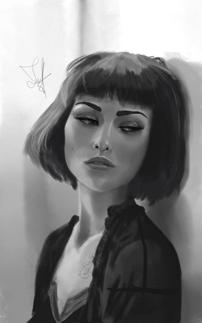 Portrait Study - Final by ThanArtos