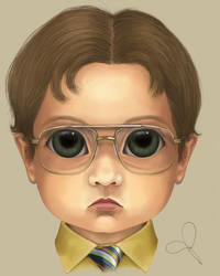 Dwight Schrute (BITTY BADDIES) by jodyparmann