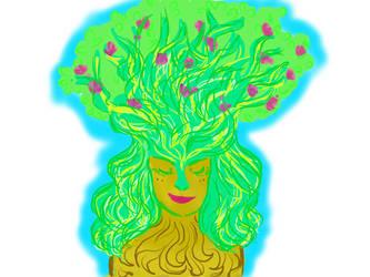 Tree Spirit by PixieBrush