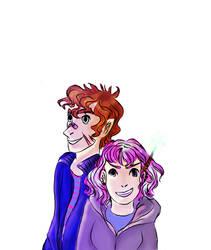 Remus And Tonks by PixieBrush