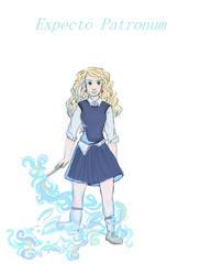 Expecto Patronum : Luna by PixieBrush
