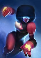 Steven Universe fanart-Garnet by DottorFile