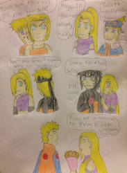 Friendship-Naruto And Ino by NaruhinaluvrX