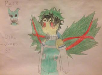 Anime Bois As Ghouls-Midoriya by NaruhinaluvrX