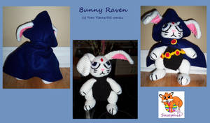 Bunny Raven by Sasophie