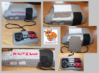 Crochet NES Nintendo plush by Sasophie