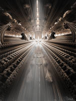 The Big Hall Of Cocoons by SteinTSkavaas
