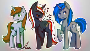 Fallout: Equestria - Unicorn Gals by AceLinJack