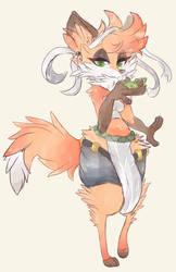 Fox 23456578789 by CoffeeChicken