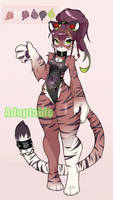 Tiger Girl Adoptable Auction on FA - starts at $10 by CoffeeChicken