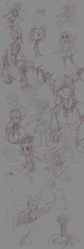SketchDump by RenrookART