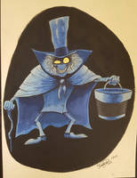 Hatbox Ghost by happydoodle