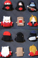 Finger Puppets 1 by Rokuri