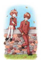 Horitsuba Days: Sakura+Syaoran by Rokuri