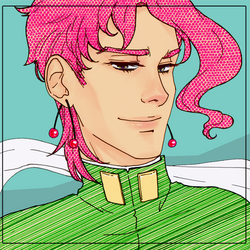 Kakyoin - summer breeze by Rokuri