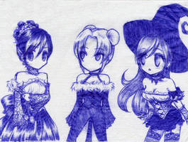 Corset Girls by Rokuri