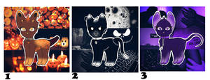 Halloween Aesthetic Themes Adopts (OPEN 1/3) by furspice