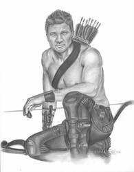 Jeremy Renner - Hawkeye by ShonnaWhite