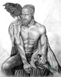 Ragnar Lothbrok - Vikings by ShonnaWhite