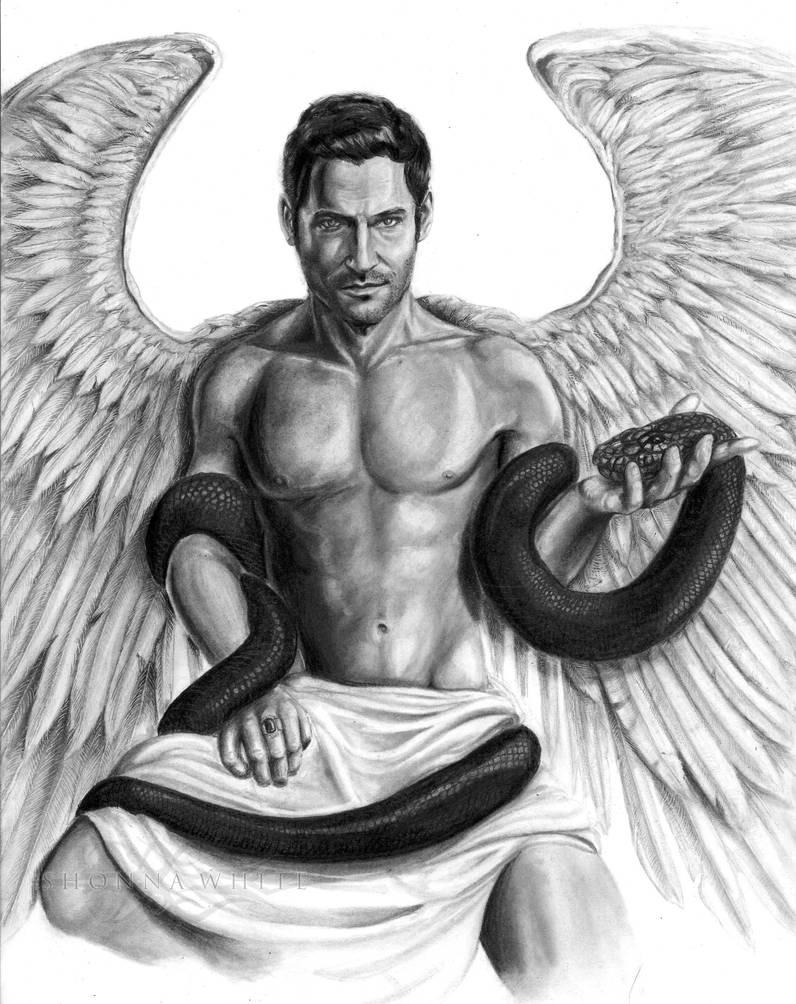 Lucifer Morningstar - Tom Ellis (DC Comics) by ShonnaWhite