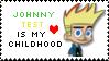 Johnny Test is my Childhood Stamp by SpongeKittyGO