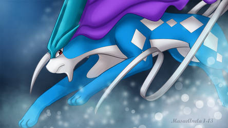 Suicune by Masae
