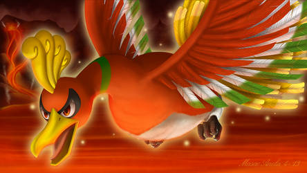 Ho-oh by Masae