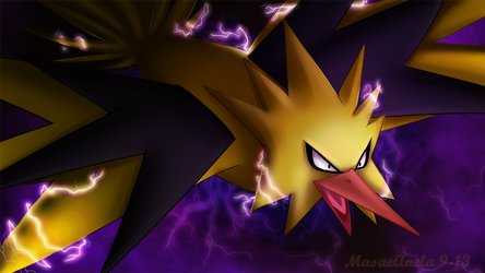 Zapdos by Masae