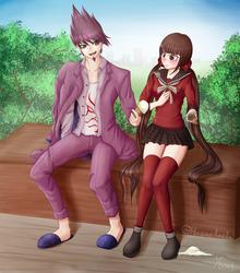 Kaito and Maki's Ice Cream by Masae
