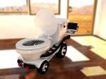 Digital Media Toilet by Al-Wazery
