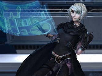 StarWars: Imperial Agent. by UnseelieAllure
