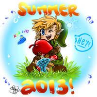 Zelda Summer by October-Shadows