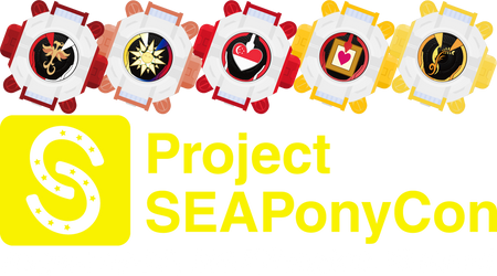 ''Project SEAPonyCon'' Feat. The Mane 5 Eyecons by Zecter-the-Hedgehog