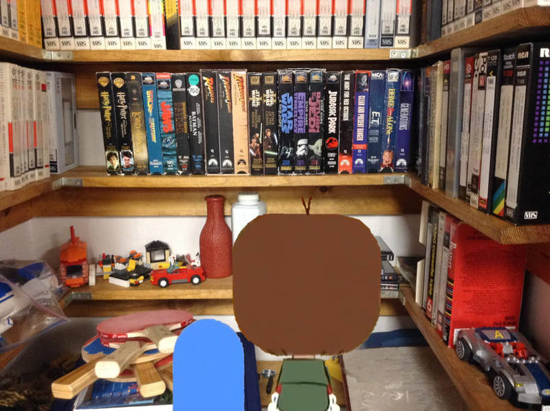 Looking at their Grandparents' VHS Collection by richardchibbard